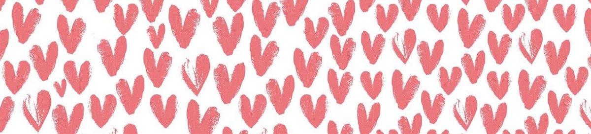 Happy Valentines Day hearts, Virtual Experience #3